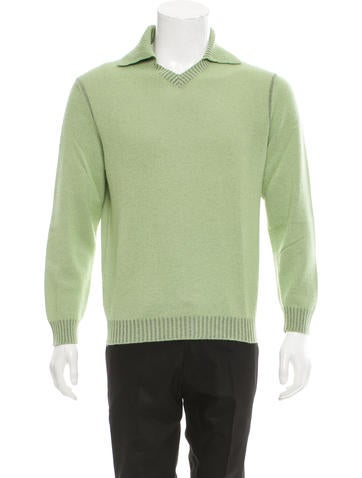 Malo Cashmere V-Neck Sweater None