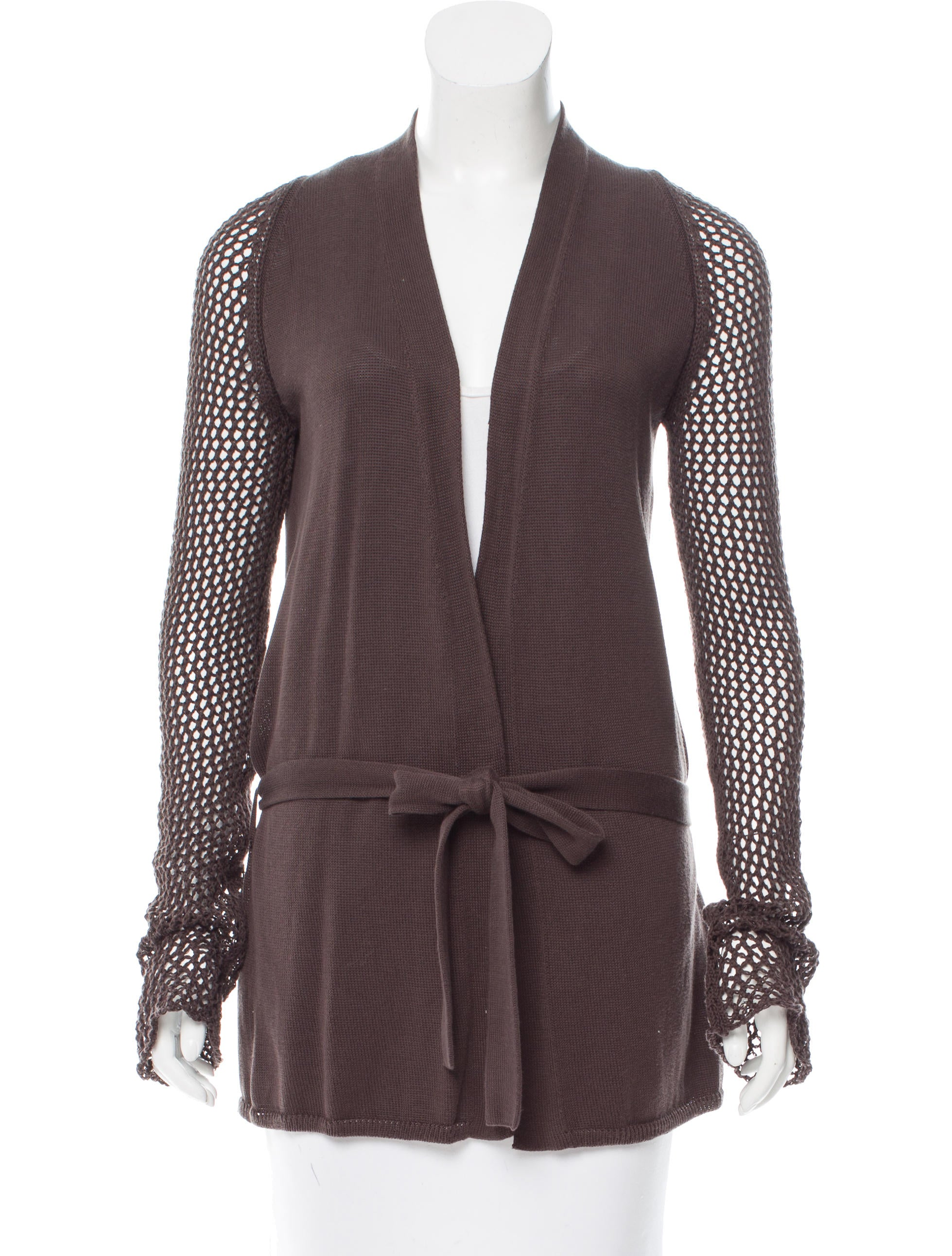 Shop Calvin Klein, Open-Knit Cardigan at Lord & Taylor. Free shipping on any order over $