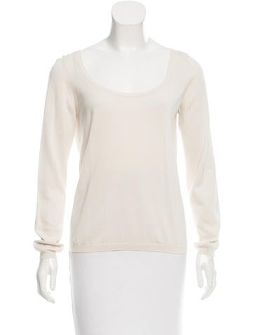 Malo Long Sleeve Scoop Neck Sweater None