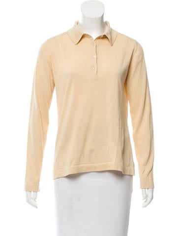 Malo Long Sleeve Button-Up Top None