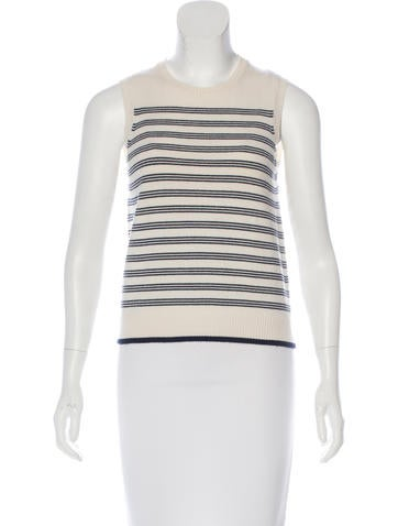 Malo Cashmere Striped Top None