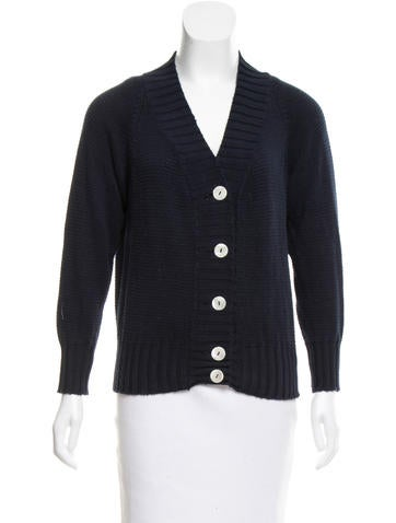 Malo Knit Button-Up Cardigan None