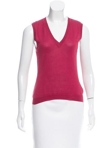 Malo Sleeveless Knit Top None