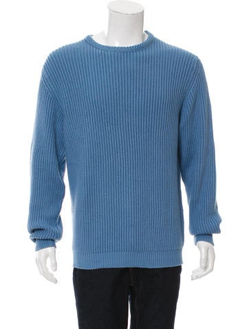 Malo Rib Knit Crew Neck Sweater None