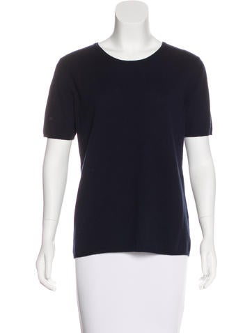 Malo Cashmere Short Sleeve Top None
