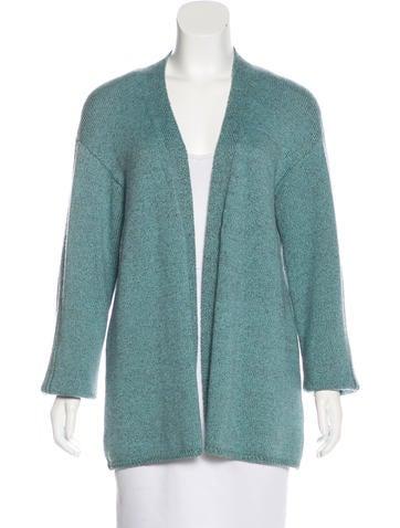 Malo Cashmere Knit Cardigan None