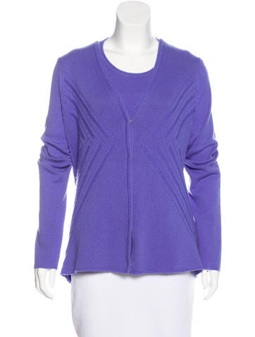 Malo Cashmere Cardigan Set None