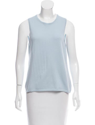 Malo Cashmere Sleeveless Sweater None