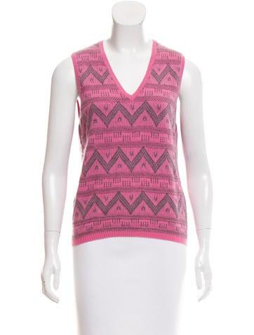 Malo Cashmere Sweater Vest None