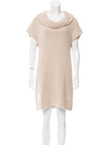 Malo Cashmere Sweater Dress None