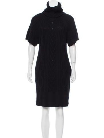 Malo Cashmere Mini Dress None