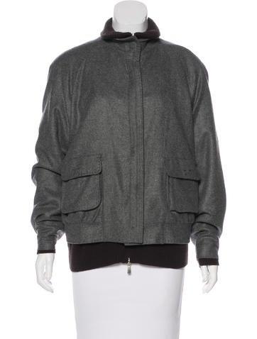 Malo Cashmere Short Coat None