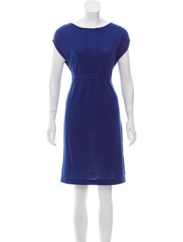 Malo Cap Sleeve Knit Dress None