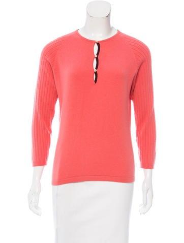 Malo Cashmere Knit Sweater None