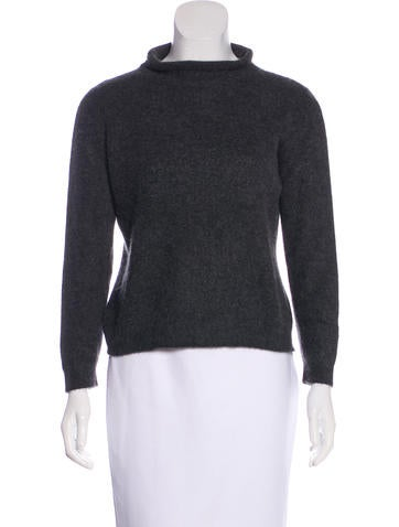 Malo Cashmere & Silk Sweater None