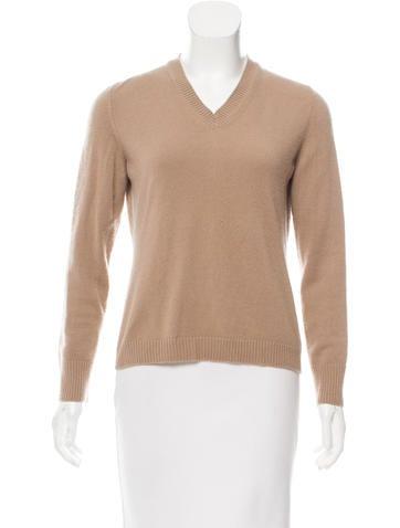 Malo V-Neck Cashmere Sweater None