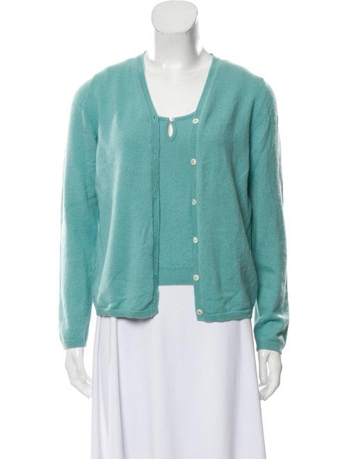 Malo Cashmere Sweater Set Aqua