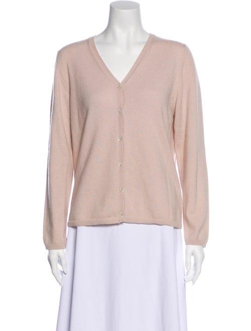 Malo Cashmere V-Neck Sweater Pink