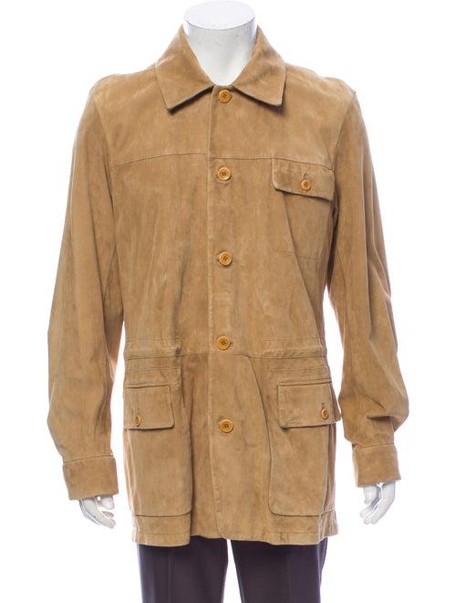 Malo Leather Sport Coat