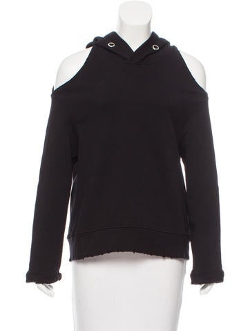 RtA Denim Distressed Cutout Sweater w/ Tags None