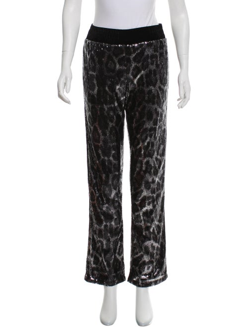 RtA Denim Sequin Mid-Rise Pants w/ Tags Black