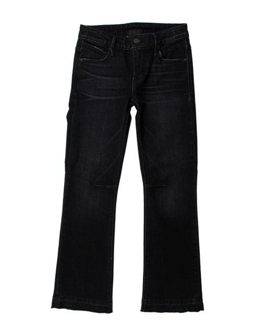 RtA Denim Low-Rise Straight Leg Jeans Denim