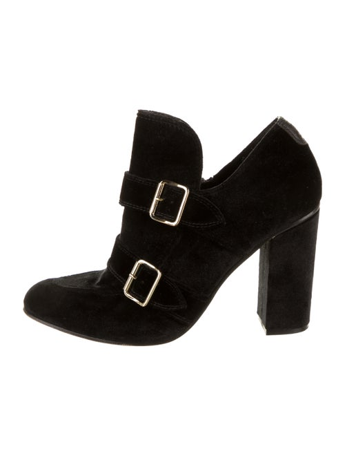 The Office of Angela Scott Round-Toes Boots Black