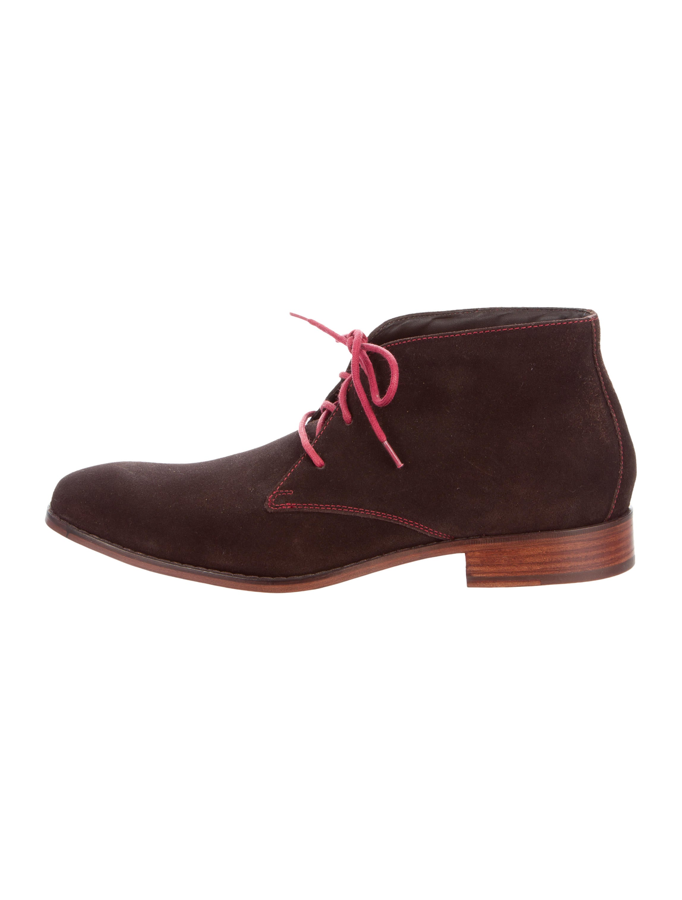 cole haan suede desert boots shoes w4920245 the realreal