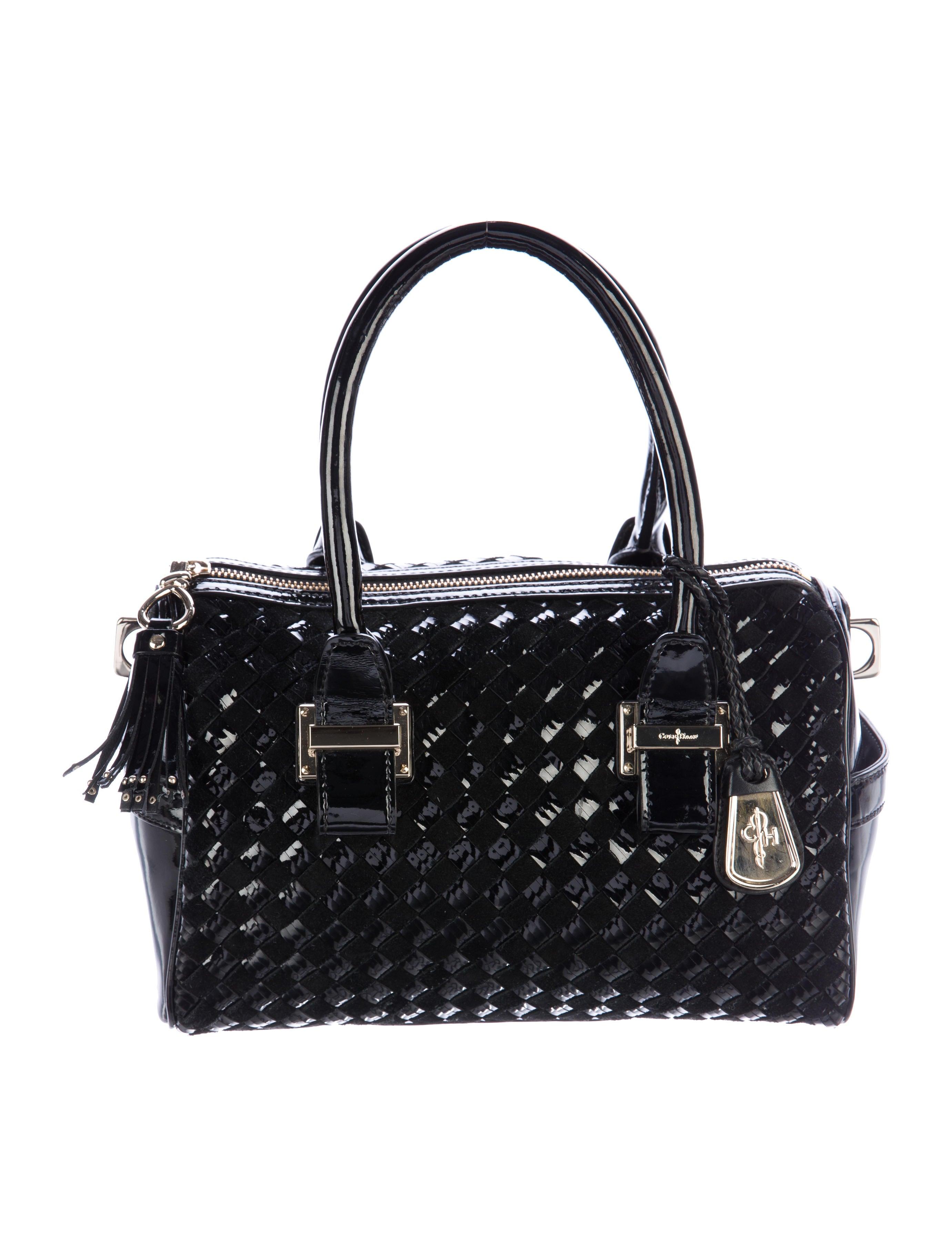 Cole Haan Woven Leather Satchel Handbags W4920260