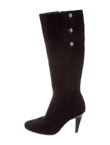 373a179bf9d2 Cole Haan. Pointed-Toe Knee-High Boots