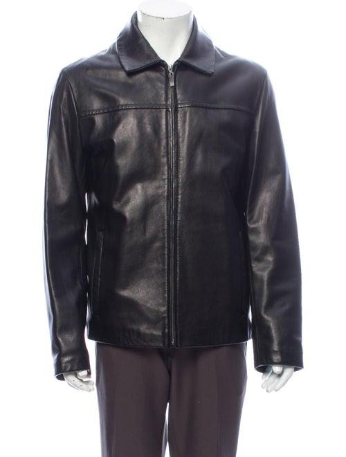 Cole Haan Moto Jacket Black