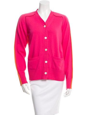 Sacai Luck Colorblock Knit Cardigan None