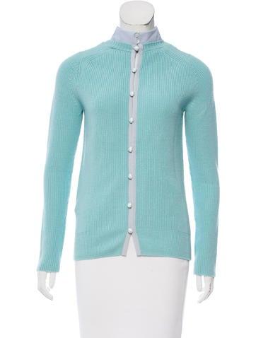 Sacai Luck Wool Rib Knit Sweater None