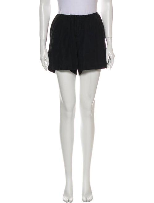 Piamita Silk Mini Shorts Black