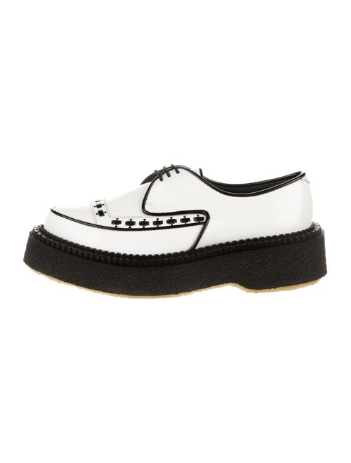 Adieu Leather Platform Loafers w/ Tags White