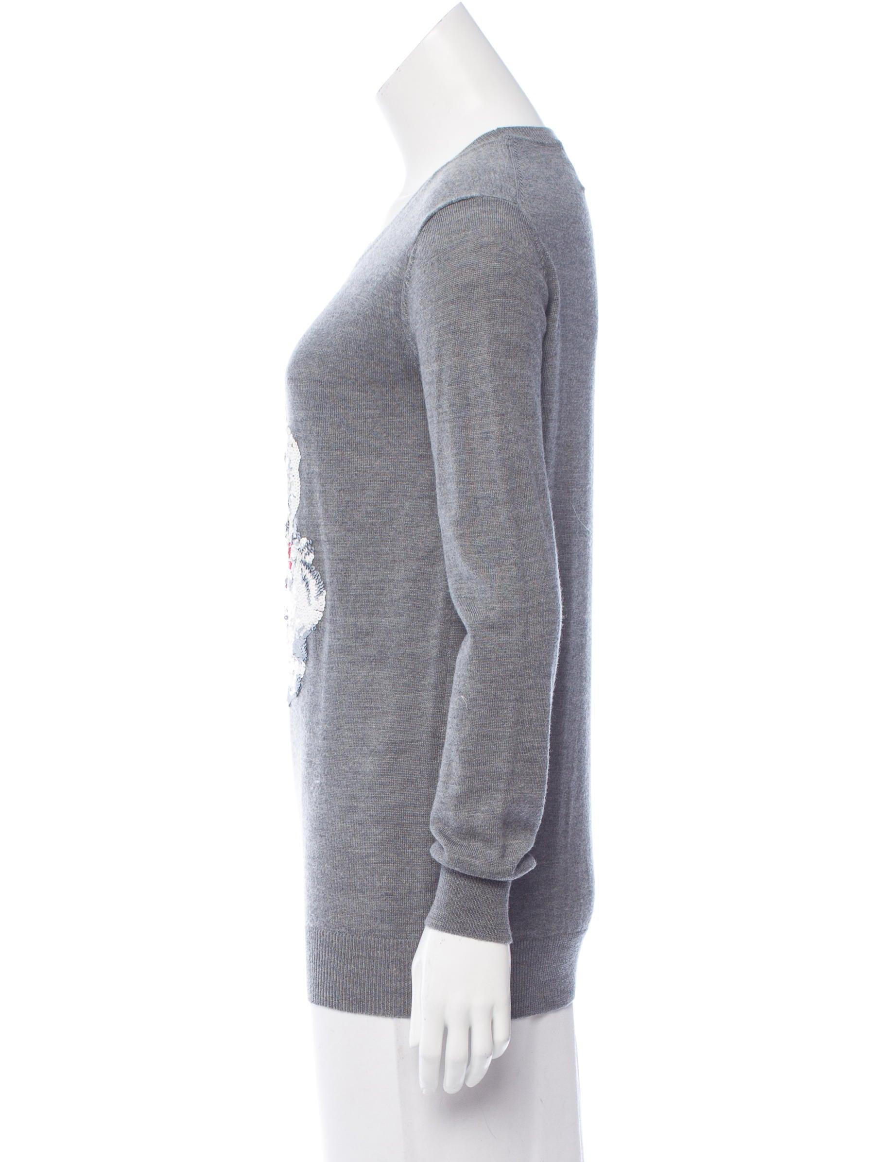 Markus Lupfer Wool Santa Claus Sweater