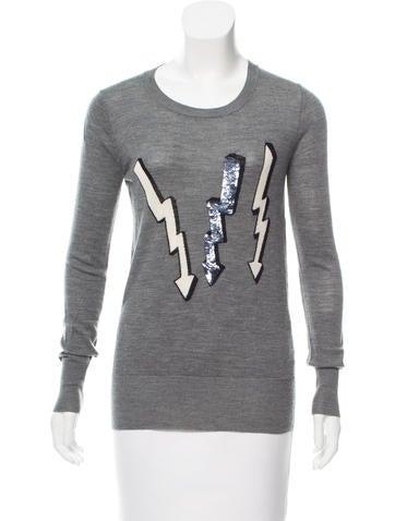 Markus Lupfer Intarsia Wool Sweater None