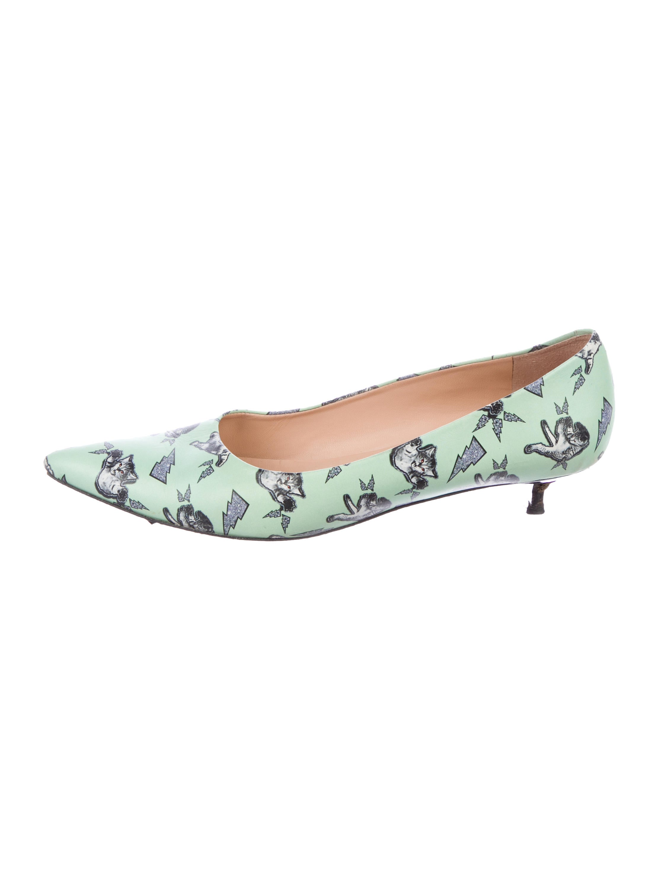 free shipping fake Markus Lupfer Printed Pointed-Toe Pumps buy cheap fast delivery discount genuine clearance cost wSYp4