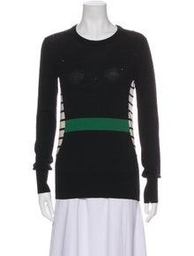 Markus Lupfer Merino Wool Striped Sweater