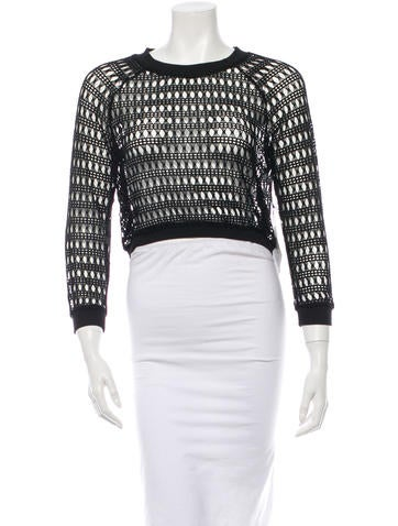 Viva Vena! by Vena Cava Open-Knit Sweater w/ Tags None