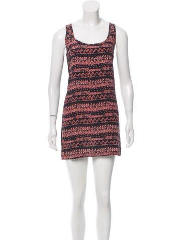 Viva Vena by Vena Cava Abstract Print Silk Dress None