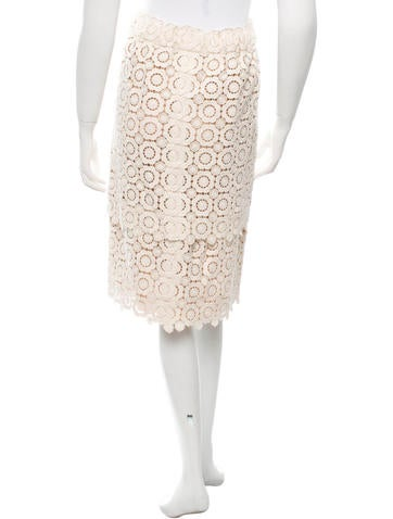 Huipil Lace Tiered Skirt w/ Tags