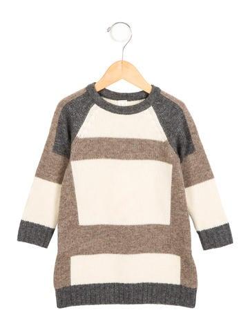 Tia Cibani Girls' Wool Colorblock Dress w/ Tags None
