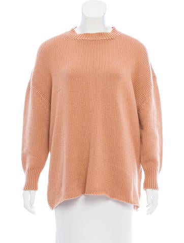Ryan Roche Long Sleeve Cashmere Sweater None