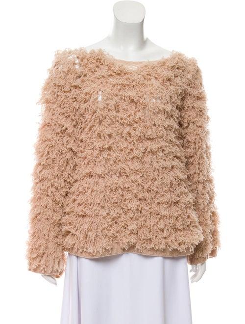 Ryan Roche Textured Knit Sweater