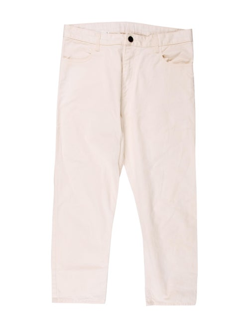 Bassike High-Rise Straight Leg Jeans