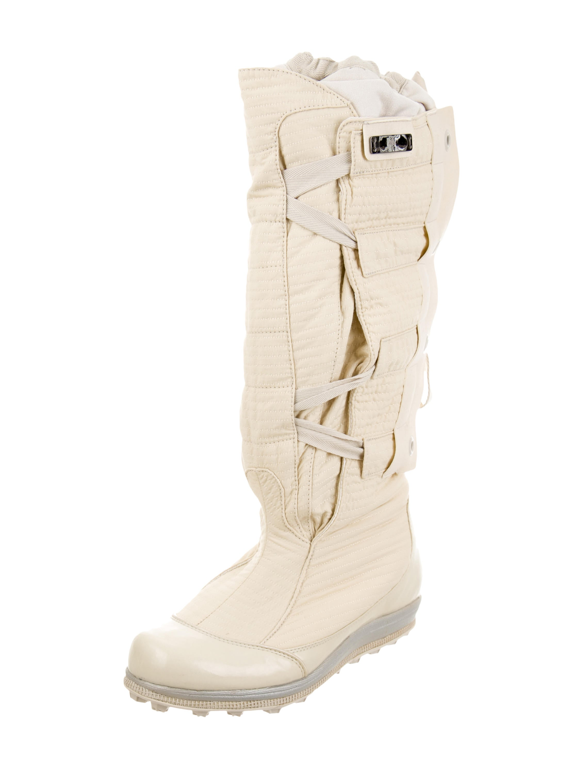 stella mccartney for adidas knee high weather boots