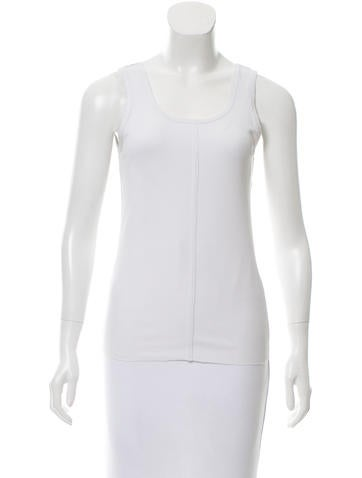 Stella McCartney for Adidas Sleeveless Scoop Neck Top None