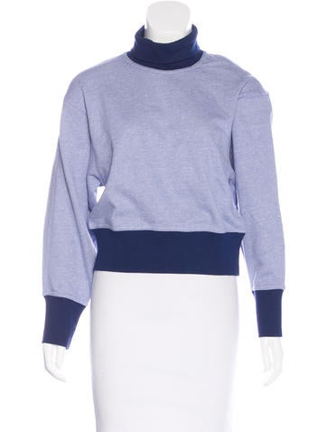 Stella McCartney for Adidas Colorblock Turtleneck Sweater None