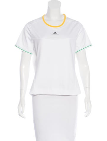 Stella McCartney for Adidas Athletic Short Sleeve Top None